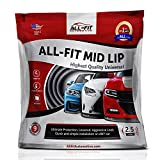 All-Fit Automotive 2.5 Inch Universal Bumper Lip Splitter Kit - Chin Spoiler Protector for Front or Rear - Lips Protect and Cover Lower Bumper for a Dropped Look - Universal Fit
