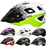 Skullcap® Fahrradhelm & MTB Helm + Visier für Herren & Damen (kingTRAIL, M (55-58 cm))