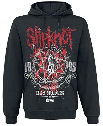 Slipknot Iowa Star Männer Kapuzenpullover schwarz XXL 80% Baumwolle, 20% Polyester Band-Merch, Bands