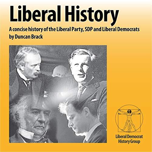 Liberal History audiobook cover art
