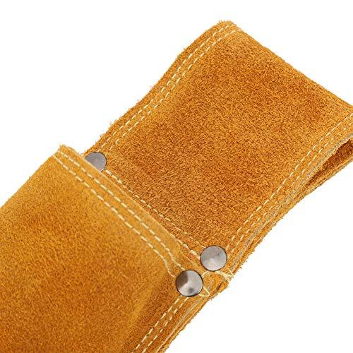 Bolsa de electrodos de varilla de soldadura, resistencia al desgaste, soporte de varilla de soldadura, resistencia, piel de vaca, para soldar