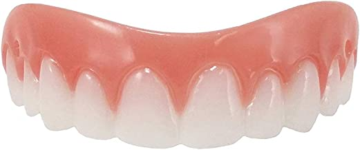 Cosmetic Down Teeth,smile teeth with[Easy to Set][Natural Shade],snap veneers for women man