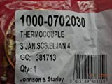 Johnson & Starley SCS ELJAN 4 Thermocouple 1000-0702030