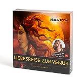 Amorjoya Liebesreise zur Venus, Classic Edition, Erotisches Geschenk für Paare, Liebesspiele ab 18 Jahre, Sexspiele Brettspiele Erwachsene Sex, Brettspiel Sex Paar erotisch, Paarspiele für 2