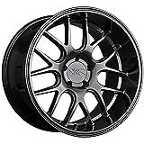 XXR WHEELS 530D Rim 19X10.5 5X114.3 Offset 20 Hyper Black (Quantity of 1)