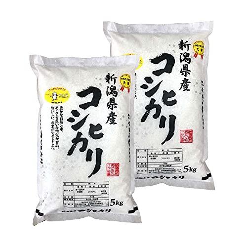 新潟県産コシヒカリ (受注精米10㎏(5KGX2))