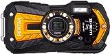 Pentax Optio WG-2GPS Summer confezione fotocamera digitale (16Megapixel, 5posizioni Opt. Zoom, Display 7,6cm (3pollici), obiettivo 28mm grandangolare, immagine stabilizzata) Arancione