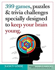 People who solve word games & brainteasers hold significant cognitive advantage over those who donaTMt The illustrated game book specifically created to cross-train the brain Fun games to stretch, challenge and engage your clients, which stimulate th...