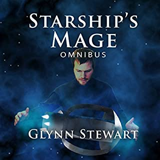 Starship's Mage Omnibus     Starship's Mage Series #1              By:                                                                                                                                 Glynn Stewart                               Narrated by:                                                                                                                                 Jeffrey Kafer                      Length: 10 hrs and 58 mins     206 ratings     Overall 4.6