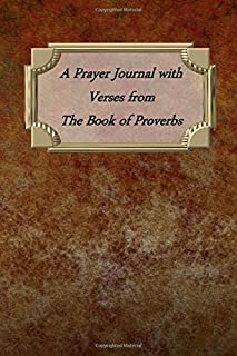A Prayer Journal with Verses from The Book of Proverbs: Metal Texture