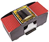Best Card Shufflers - Battery Operated Automatic Card Shuffler, 2 Deck Card Review