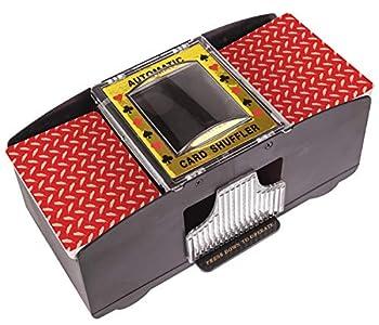 Battery Operated Automatic Card Shuffler 2 Deck Card Shuffler for Home Card Games Poker Rummy Blackjack