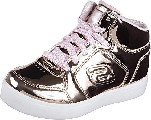 Skechers Mädchen Energy Lights Sneaker, Pink (Rose Gold), 37 EU