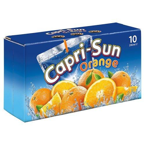 Capri-Sun sap drinken oranje 40x200ml