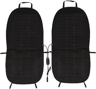 DDSKY Car Heated Seat Cushion Heating Pad (2-Pack, Black)