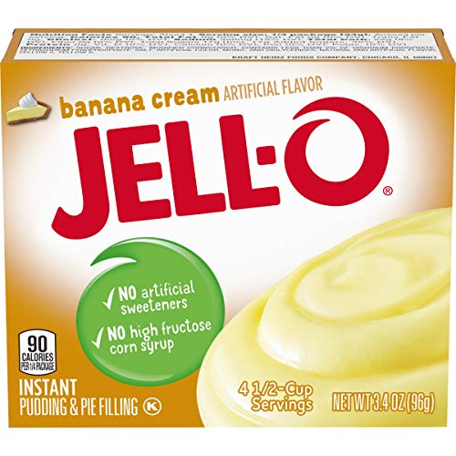 JELL-O Banana Cream Instant Pudding