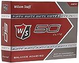 Wilson Golf Staff Fifty Elite Golf Balls, Dozen Slide...