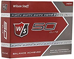 The Best Golf Balls For Seniors - Wilson Staff 50 Elite Golf Balls