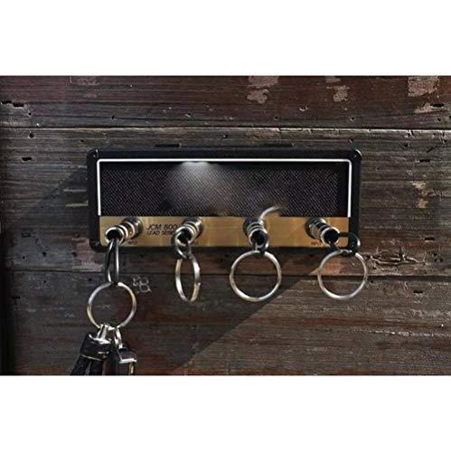 Almacenamiento de llaves Soporte para llavero de guitarra Jack II Rack 2.0 Estante para llaves eléctrico Amplificador vintage JCM800 Regalo Dropshipping-Negro