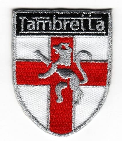 Mainly Metal–Parche planchable Lambretta Inglaterra St George escudo scooter mod insignia