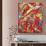 EDGIFT2 Moderne Hd modularen Druck Marc Chagall Leinwand