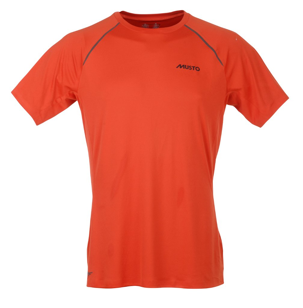 Musto Evolution Dynamic Short Sleeve – Camiseta Fire Naranja Tamaño S – XXL, Color Fire Orange, tamaño Extra-Large: Amazon.es: Deportes y aire libre