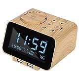Best Alarm Clock Radios - USCCE Digital Alarm Clock Radio - 0-100% Dimmer Review