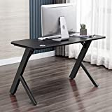 Gaming Desk Gaming Table Home Office Desk Studio Workstation Large Size 47.2 inch