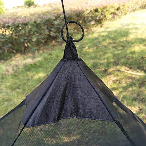 FHH - mosquitero de tienda de campaña para exteriores, triángulo, portátil, mosquitero, jardín, camping, senderismo, pesca