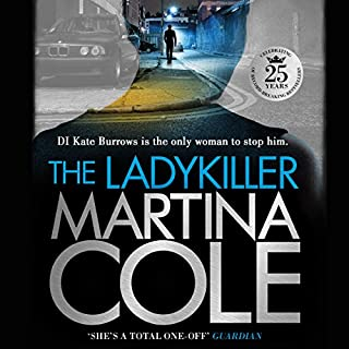 The Ladykiller                   By:                                                                                                                                 Martina Cole                               Narrated by:                                                                                                                                 Annie Aldington                      Length: 20 hrs and 36 mins     702 ratings     Overall 4.6