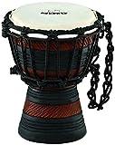 "Nino Percussion Nino-ADJ3-XXS African Style Rope Tuned ""Earth Series"" Djembe, Size XX-Small"