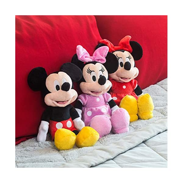 "Disney Minnie Mouse Red 11"" Beans Plush w hangtag 3"
