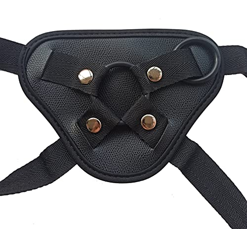 Strap on Harness Adjustable Panties Universal Plus Size Wearable Strapless Strapon For Women Men Black
