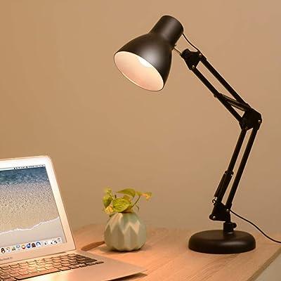 Brazo Oscilante Lámpara de Escritorio con Acortar Mesa Luz ...