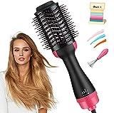Hair Dryer Brush, JAHUL 3 in 1 Hot Air Brush Hair Dryer...