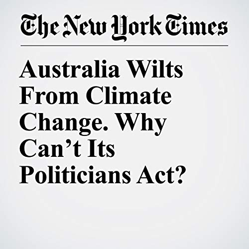 Australia Wilts From Climate Change. Why Can't Its Politicians Act? copertina