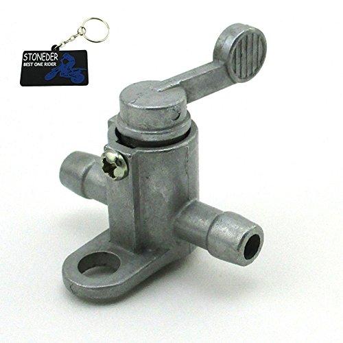 Stoneder Aluminium 8 mm 5/40,6 cm Inline Fuel Xr50 Réservoir robinet Interrupteur marche/arrêt pour Pit Dirt bike ATV Quad Buggy