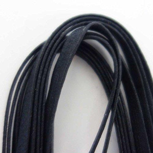 M.MowbraY紗乃織靴紐(さのはたくつひも)『編紐蝋平ロウ引きヒラ(約3mm)』