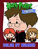 Harry Potter Color By Number For Kids: An Incredible Gift For Harry Potter Mega Fans And All Kids Relaxing With Dozen Of High Quality Color By Number Designs
