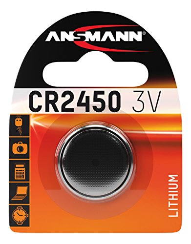 ANSMANN 5020112 Cr 2450 Pile a Bottone Batteria Litio - 3V