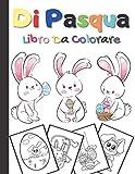libro da colorare di pasqua: Cestino di Pasqua e libri per bambini dai 4 agli 8 anni - Ott...