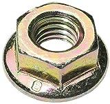 Aerzetix - 20x dado esagonale con flangia M6 10mm H6mm DIN6923 in acciaio zincato C19161