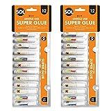 Best Super Glues - 24 x Single Use Super Glue x 1.5g Review