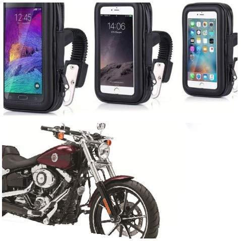 Premium Motorbike Bicycle Tough Mount GPS Holder Handlebar Waterproof Phone Stand