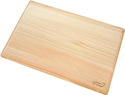 ダイワ産業 まな板 木製 ひのき 軽量 (大) 42×28cm
