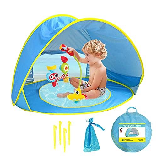 Tienda Playa Bebe Pop Up Tienda De Campaña con Piscina para Infantil...
