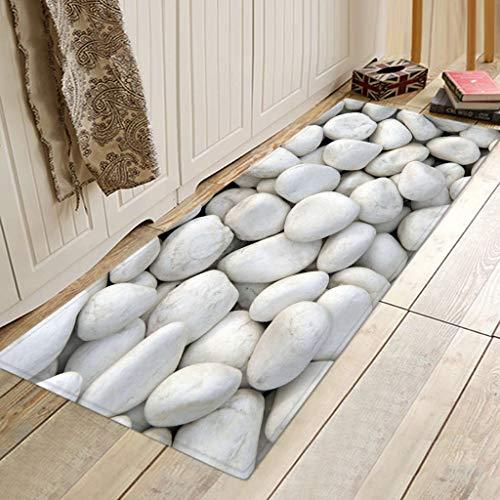 Scrolor Weichbodenmatte Teppiche Küche rutschfeste Matte Kleine Teppiche für Schlafzimmer Eingangsbereich Wohnzimmer Dekoration