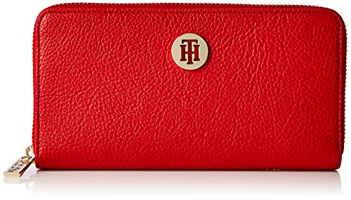 Tommy Hilfiger Th Core Za Wallet/ Keyfob, Porte-clés Femme, Rouge (Tommy Red), 11x3x19 cm (B x H T)
