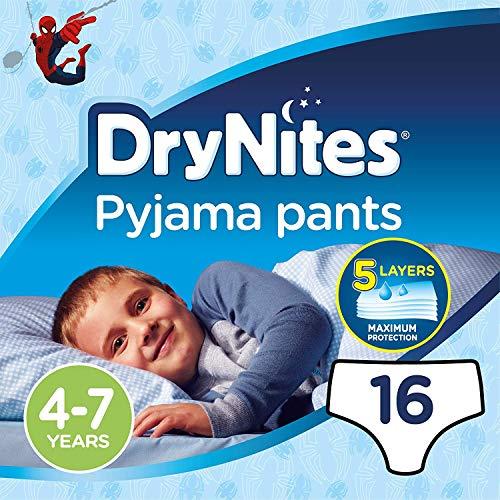 HUGGIES Culotte DryNites Boy 4-7 Ans ( 17-30 Kg)