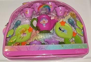 Barbie Fairytopia Magic of the Rainbow Tea Set with Tote 18 Pieces
